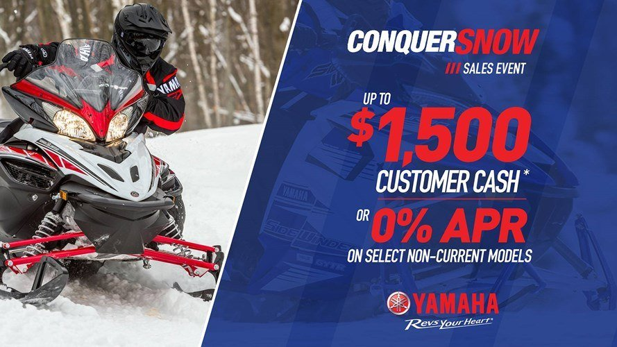 Yamaha Snowmobile - Current Offers and Financing